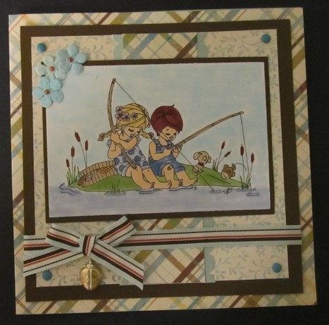 Handmade Fishing Card - News - Bubblews | P.S. I Love You Paper Arts and Crafts | Scoop.it