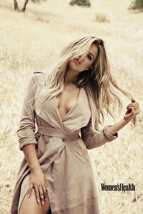 Hot Khole Kardashian Covers Women Health Magazine- Khole Kardashian Hot Photos   Celebrities Photos & Gossips   Scoop.it