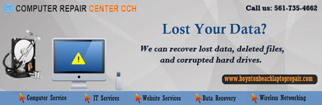 Do you need your Data Recovered? We can help | Computer Repair Boynton Beach | Scoop.it