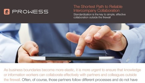Prowess Consulting | The Shortest Path to Reliable Intercompany Collaboration | Extended Collaboration | Scoop.it