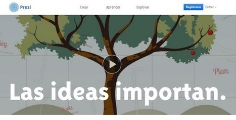 Prezi lanza su versión en español | #Apps #Softwares & #Gadgets | Scoop.it