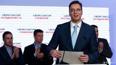Serbia swears in new prime minister | News | DW.DE | 27.04.2014 | The Balkans | Scoop.it