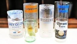 Comment recycler ses bouteilles en beaux verres | Un peu de tout et de rien ... | Scoop.it