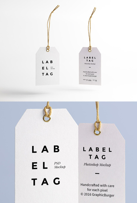 Label Tag PSD MockUp   Freakinthecage Webdesign Lesetips   Scoop.it