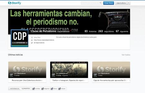 Conoce el nuevo Storify y su rediseño ideal para periodistas   ciberperiodismo ciudadano   Scoop.it