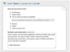 Getajobtips.com: How to invite people to connect on LinkedIn and what to say | Twitter & LinkedIn Resources | Scoop.it