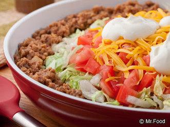 Quick Dinner Ideas: Fast Taco Pie – Saving My Family Money   ♨ Family & Food ♨   Scoop.it