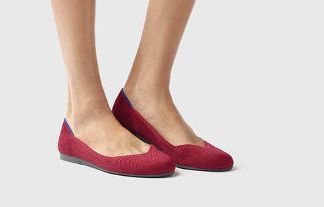 Everyday Women's Ballet & Pointed-Toe Flats - Rothy's | Matters of Design | Scoop.it