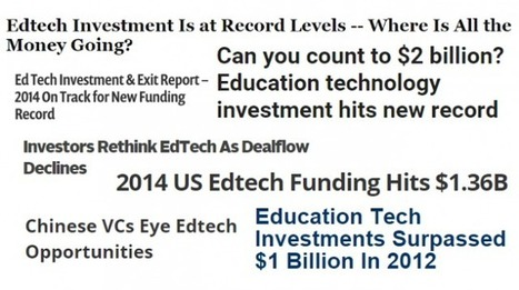Investments in ed-tech companies reach new high in first half of 2015 | InsideHigherEd | HigherEd Hub | Scoop.it