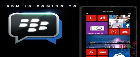 Nokia Confirmed to Launch BBM for Windows Phone App   Windows Mobile App Mart - Windows Mobile Phone News   Scoop.it