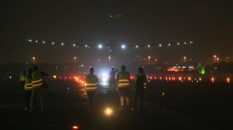 Solar Impulse completes historic round-the-world trip - BBC News | Green Forward - Environment-World | Scoop.it