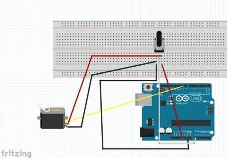 Práctica 6.Controlar un servomotor a través de un potenciómetro. | TECNOLOGÍAS ESO | Scoop.it