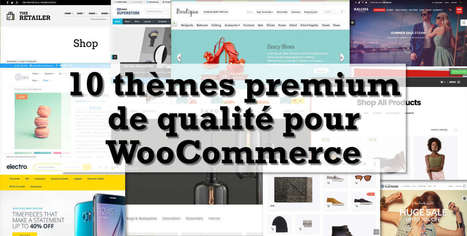 10 thèmes WooCommerce premium de qualité pour 2016 | WordPress France | Scoop.it