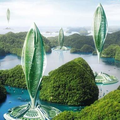 Hydrogenate, Algae Farm to Recycle C2O Bio-hydrogen Airship | Vincent Callebaut Architectures | Shanghai, South China Sea | Architecture, Design, Art, Technology | Scoop.it