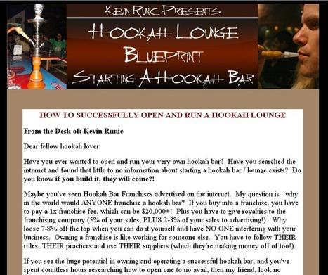 Social News Source: Hookah Bar Blueprint - Learn How To Start A Hoookah Lounge   Best Social Media on the Web   Scoop.it