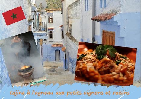 Recette de tajine d'agneau aux petits oignons, raisins secs, amandes et pignons (cuisine marocaine) | Street food : la cuisine du monde de la rue | Scoop.it