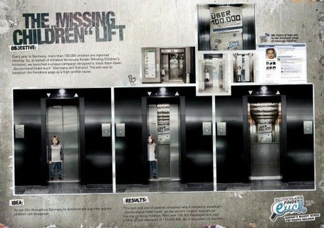 Initiative Vermisste Kinder [Missing Children's Initiative] or Transmedia at its finest. | Transmedia: Storytelling for the Digital Age | Scoop.it