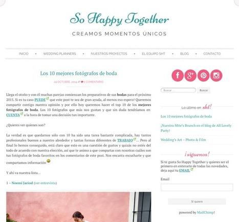 • PUBLICACIONES • - LAURA CHACÓN PHOTOGRAPHY | Facebook | Fotógrafos de Boda - Wedding photograpy - inspiration and tips | Scoop.it