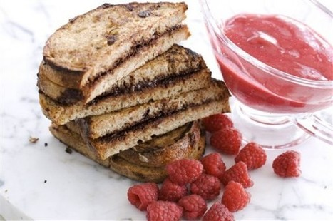 Healthy French toast with a hidden chocolate layer - Rapid City Journal - Rapid City Journal | RECIPES WITH CHOCOLATE | Scoop.it