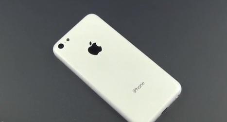 iPhone Low Cost : Le dos du mobile se dévoilerait dans une vidéo | Actualité digimobile | Scoop.it