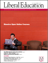 Liberal Education | Fall 2013 | Index | SCUP Links | Scoop.it