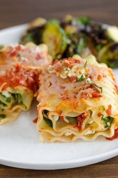 Spinach Lasagna Roll Ups | MakeYourRecipes | Recipes | Scoop.it