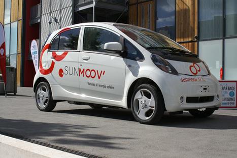 Lyon lance SunMoov', des voitures qui carburent à l'eau et au soleil | great buzzness | Scoop.it
