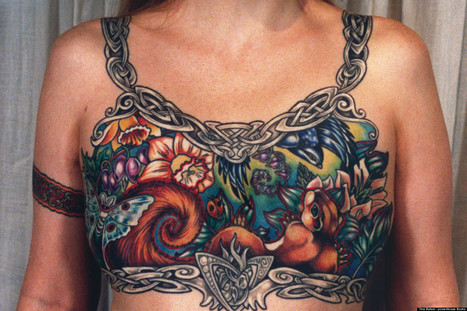 Facebook Removes Photo Of Breast Cancer Survivor's Tattoo, Users Fight Back | Archivance - Miscellanées | Scoop.it