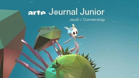 ARTE Journal Junior | ARTE | Ele &Fle Twitts | Scoop.it