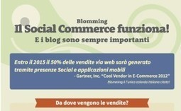 Il Social Commerce funziona e i blog sono sempre importanti [Infografica] | News Digital Marketing | Scoop.it