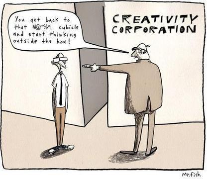 Corporate Creativity: Managing your marketing team (and career) to balance innovation and execution   Marketing + innovation + IT   Scoop.it