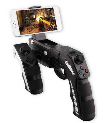 Ipega PG-9057 is a Bluetooth Gaming Gun for Android & iOS Smartphones, TV Boxes, Computers, etc… | mobile & embedded engineering | Scoop.it