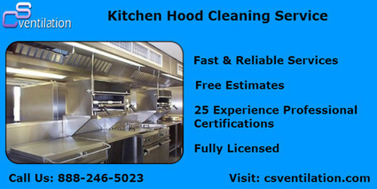Kitchen Hood Cleaning Service | CS Ventilation Boston Hood Cleaning | Scoop.it
