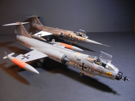 Hasegawa 1/48    Early  GAF F-104G Starfighter - Ready for Inspection - Aircraft | Francois' Scale Modeling Gazette | Scoop.it