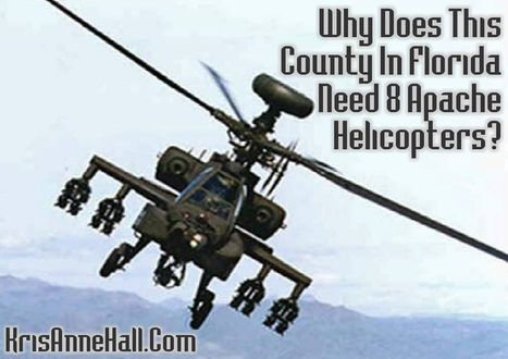 Why Does a Florida County Need Eight $18 Million Helicopters? - | Criminal Justice in America | Scoop.it