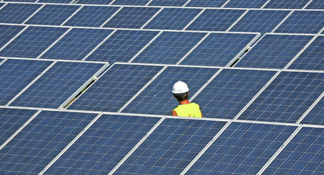 New Solar Panels Use Origami to Catch 40 Percent More Rays   Eco-innovation   Scoop.it