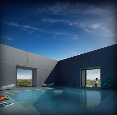 Concrete House Softened by the Environment – The Solo House | Art Decoration Design | Concrete.Network | Scoop.it