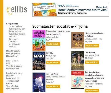 E-kirjat, osa 3: Mistä ostaa, ladata ja lainata e-kirjoja | Lukulamppu | SoMe viestintä | Scoop.it