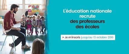 En 2017, le ministère recrute 25 000 nouveaux enseignants : inscrivez-vous aux concours de recrutement d'enseignants et de personnels d'éducation - Devenir enseignant   La médiathèque de l'ESPE d'Albi   Scoop.it