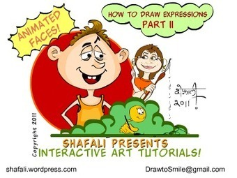 FREE Online Drawing tutorials « Shafali's Caricatures & Cartoons | Free Tutorials in EN, FR, DE | Scoop.it