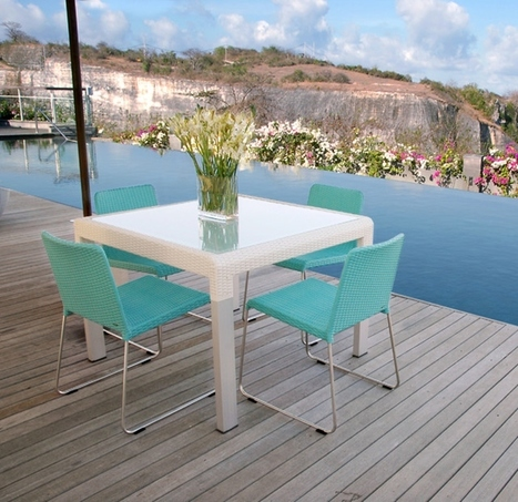 Square Dining Tables for Minimalist Concept   Home Decorating Ideas   Scoop.it