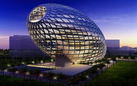 Amazing Cybertecture egg, India | See More Pictures | #SeeMorePictures | Sustainable building in India | Scoop.it
