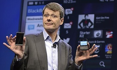 BlackBerry fires CEO Thorsten Heins as $4.7bn Fairfax rescue bid collapses | A2 Business Section B Case Studies | Scoop.it