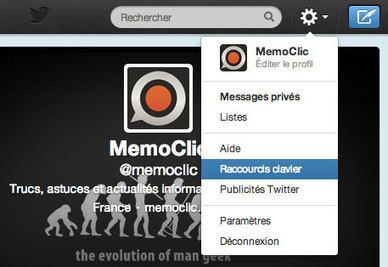 Tous les raccourcis clavier pour Twitter | Social Medias News ! | Scoop.it