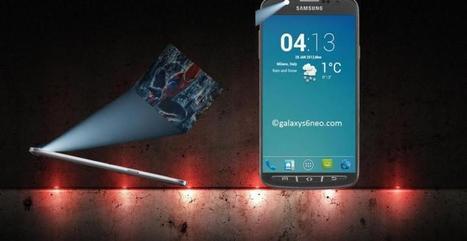 Samsung Galaxy S6 : Un projecteur sur la façade dans un nouveau ... - meltyStyle | AV news | Scoop.it