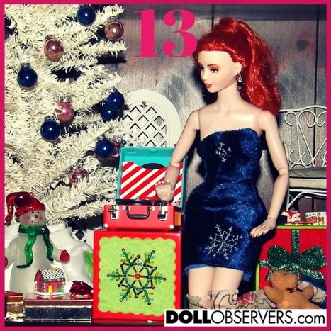 The DollObservers.com Advent Calendar 2014 | Fashion Dolls | Scoop.it