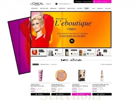 L'Oréal Paris ouvre boutique sur Internet | Cosmetique 2.0 | Scoop.it