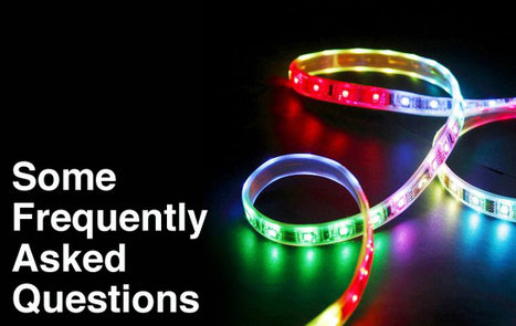 RGB Colour Strip Lights - Some Frequently Asked Questions | Electrical and Lighting | Scoop.it