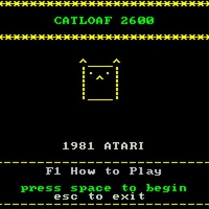 Catloaf 2600 screenshots, images and pictures - Giant Bomb | ASCII Art | Scoop.it
