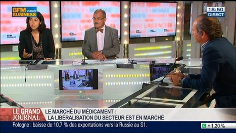 [BFM BUSINESS] Renaud Nadjahi, Sabine Safi et Emmanuel Combe, dans Le Grand Journal - 11/08 4/7   La revue de presse 1001pharma   Scoop.it